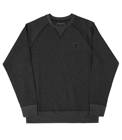 VICE CREW NECK BLACK