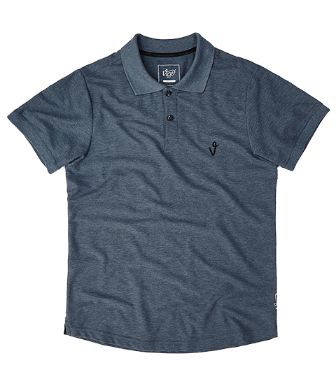 VICE LOGO POLO DARK BLUE