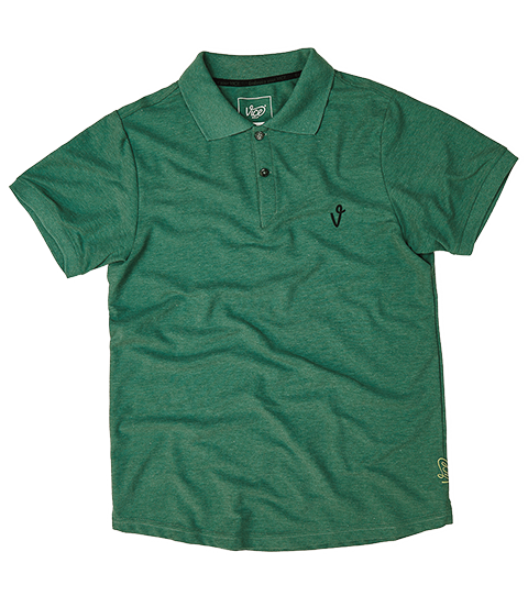VICE LOGO POLO DARK GREEN