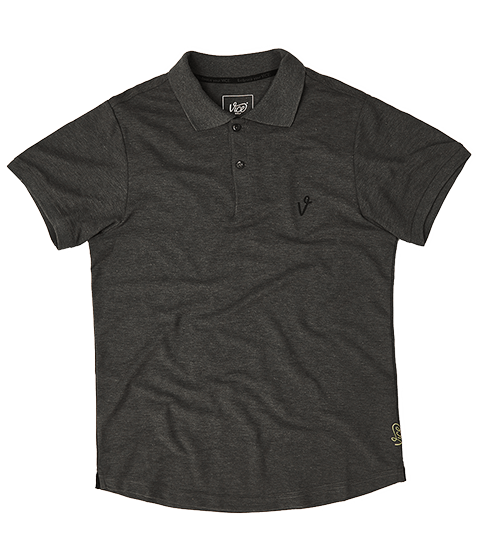 VICE LOGO POLO DARK GRAY