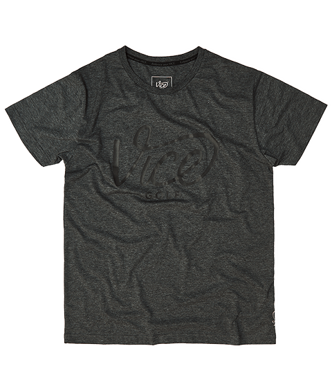 VICE LOGO T-SHIRT DARK GRAY