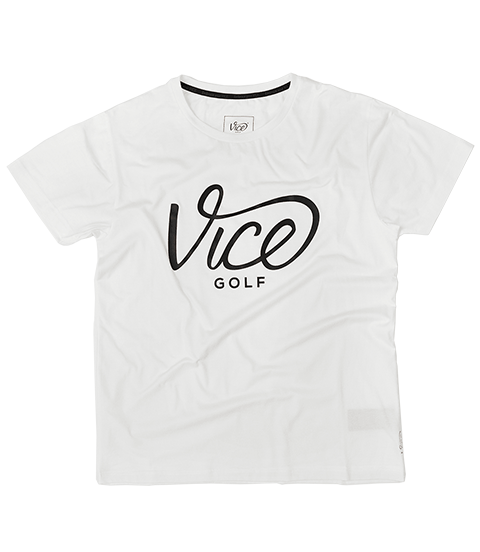 VICE LOGO T-SHIRT WHITE
