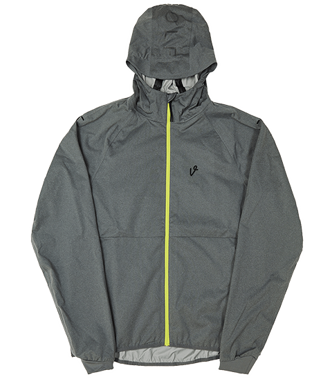 VICE WINDBREAKER GRAY HEATHER