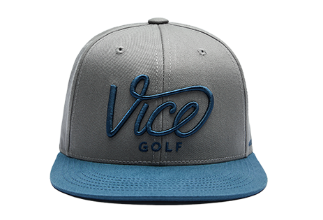 Crew Cap Blue / Grey