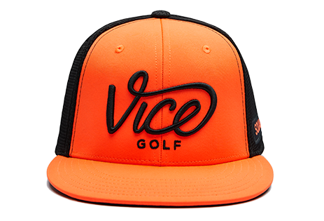 Squad Cap Black / Orange