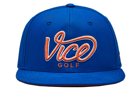 Crew Cap Summer Blue-Orange