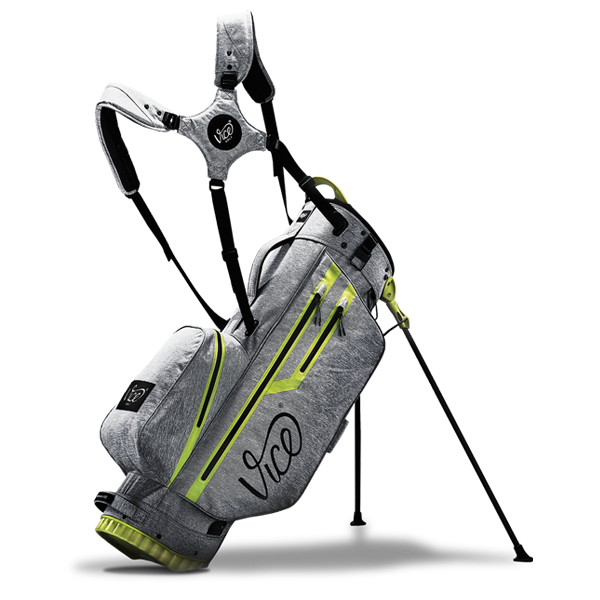 Vice FORCE NEON GRAY - Golf Carry / Stand Bag