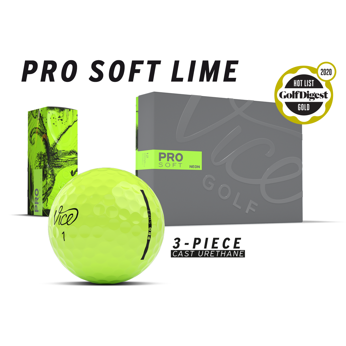 Pro Soft Lime package
