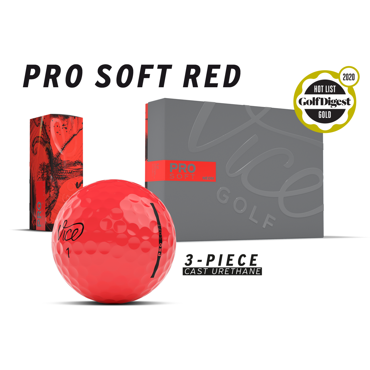 Pro Soft Red package