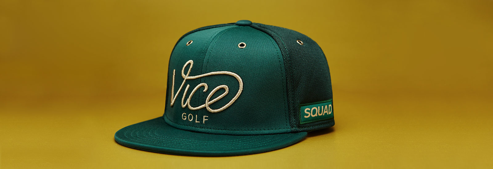 VICE Golf Squad Cap - Forest – VICE Golf Netherlands 32ab734ba07
