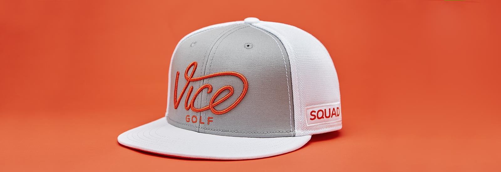 VICE Golf Squad Cap - Orange – VICE Golf U S A 3b19af142a2