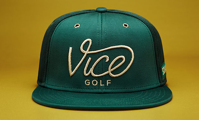 VICE Golf Squad Cap - Forest – VICE Golf France