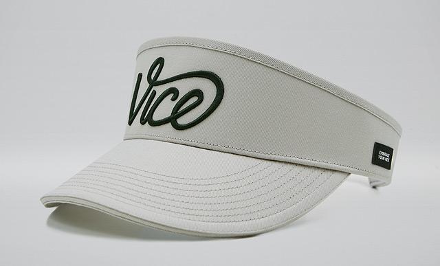 VICE Golf Visor – HighCrown Beige VICE Golf 581691b22da