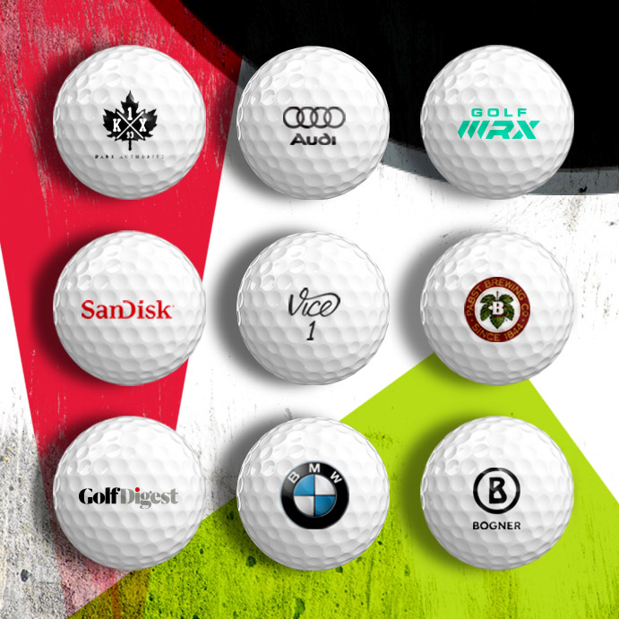 Personalize Your Golf Balls With Your Custom Logo Text Or Photo