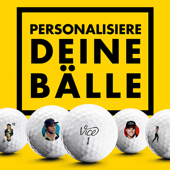 personalisierte golfbälle
