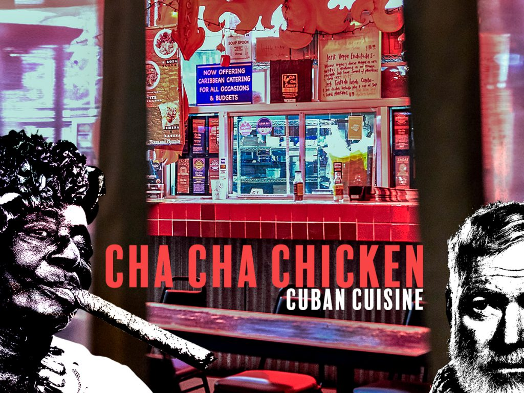 cha cha chicken a touch of cuba in l a vice golf stories
